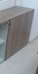 48768 cabinet with 1 glass door and shelf Offisphera