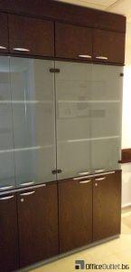28425 Cupboard with glass doors ORT