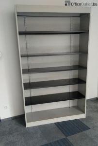 04436 Metal shelves SteelCase