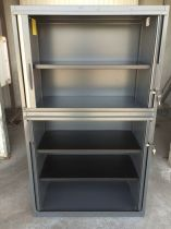 39643 Шкаф с плъзгащи ролетни врати SteelCase