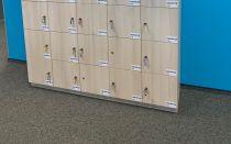 91083 Персонални багажни шкафчета за офиси