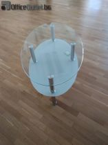 93109 Посетителска стъклена маса