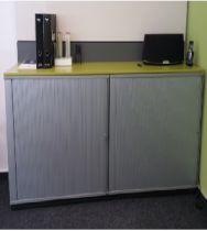 02674 Cabinet with roller doors BENE