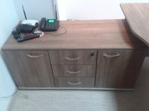 48762 Cabinet with 3 drawers i two doors Offisphera