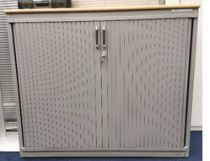 92085-1 Cabinet with roller doors Steelcase
