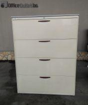 04434 Metal cabinet for hanging folders SteelCase